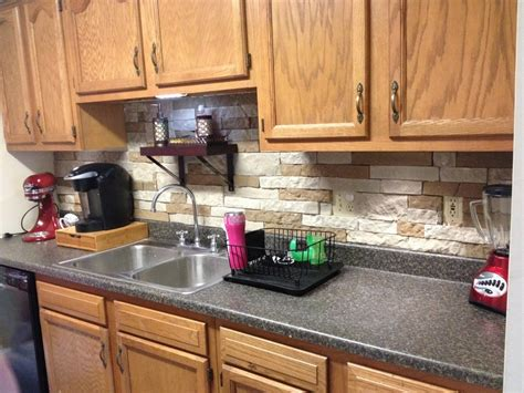 this is an airstone backsplash super easy and you can