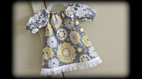 baby dress sewing  beginners youtube