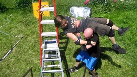 backyard wrestling youtube swede savard c vs jd grudge match chw backyard