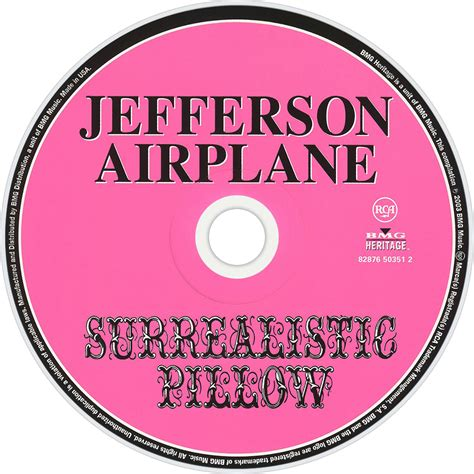 Jefferson Airplane Surrealistic Pillow by Jefferson Airplane Fanart Fanart Tv