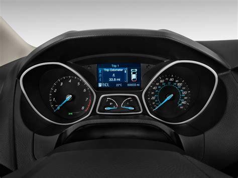 image  ford focus  door sedan se instrument cluster