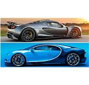 2017 Bugatti Chiron Vs Hennessey Venom GT  YouTube