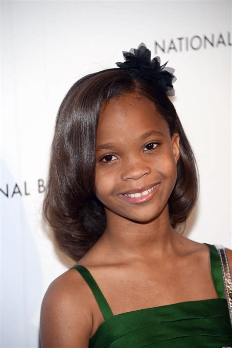black hairstyle for nine year quvenzhan 233 wallis oscars 9 year old is youngest best