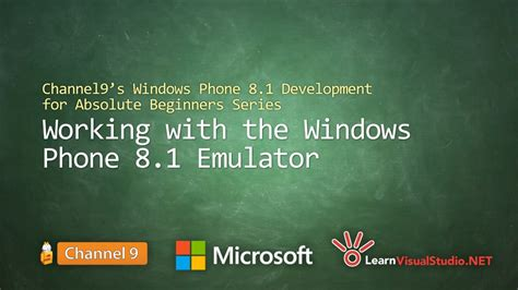 windows phone 10 development tutorial for beginners part 11 working with the windows phone 8 1 emulator