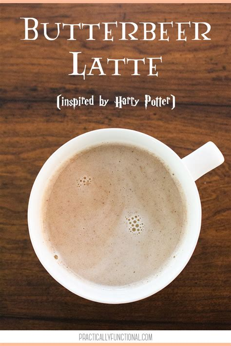 the easiest way to make a delicious butterbeer latte at home