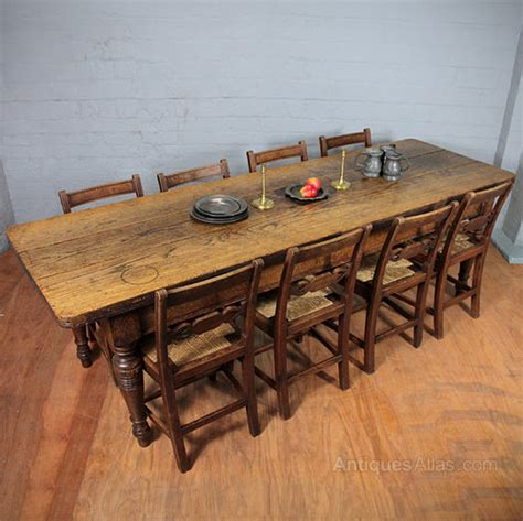 antique oak kitchen table eight oak kitchen table antiques atlas