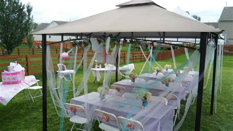 party canopy decoration tent idea