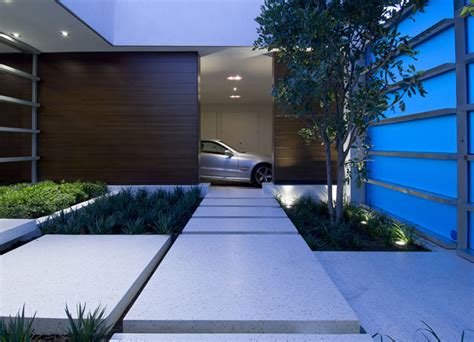 modern house entrance modern house entrance design in hollywood hills home