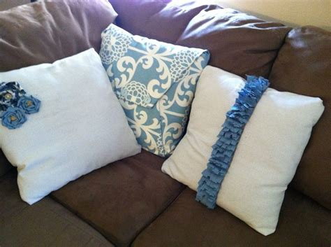 Diy Pillow Covers No Sew by Diy No Sew Pillow Covers Crafty