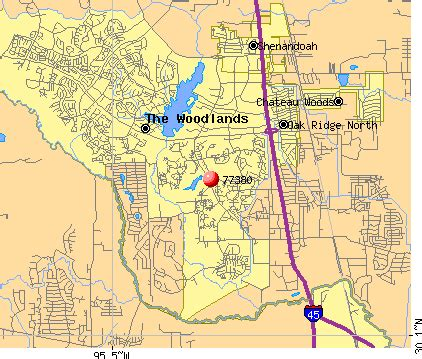 The Woodlands Zip Code Map by Pics Photos Map Zip Code City Spring State Texas Class