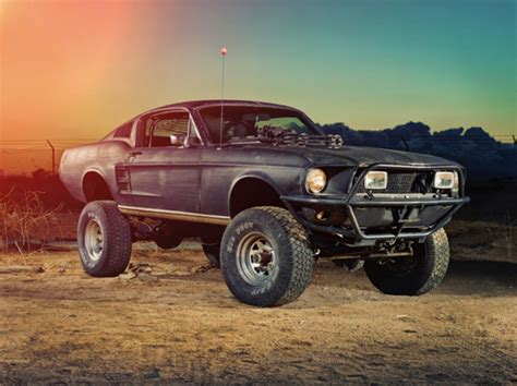 off road mustang mad max style muscle car garage pinterest cars mad