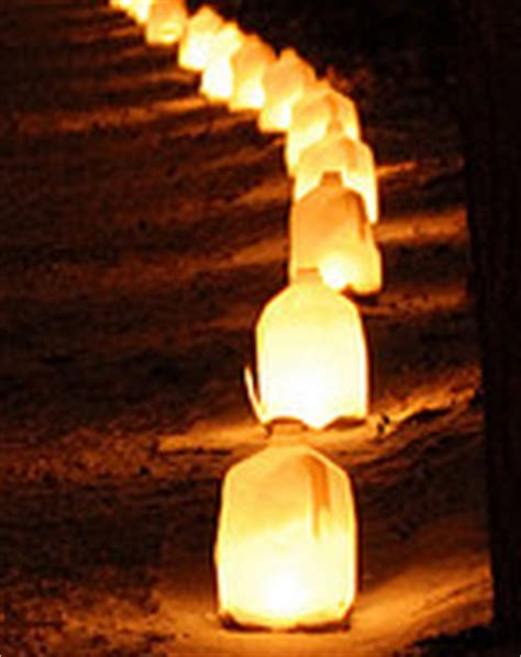 diy milk bottle luminaries dibbler dabbler