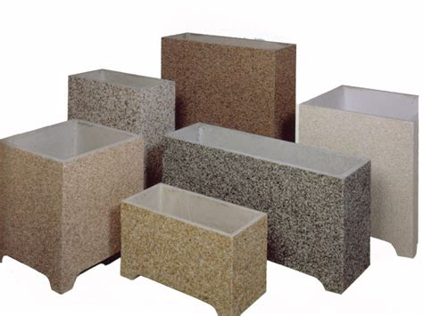 Fioriere In Cemento by Fioriere Quadrate E Rettangolari In Cemento Cps