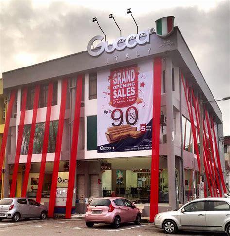gucca italy opens  taman molek enjoy    discount johor