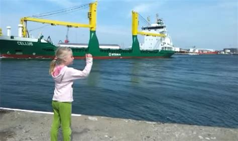boat horn girl little girl pleads with boat to toot horn and soon regrets