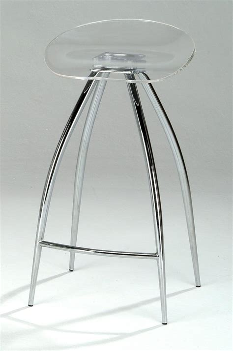 Acrylic Adjustable Bar Stools by Lucite Counter Stools For Brand New Kitchen Decoration And
