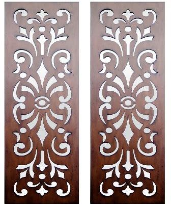 pattern design cutting home interior wall art timber wall art set of 2