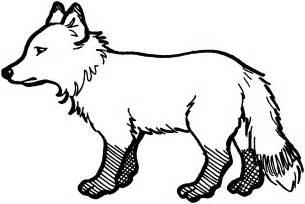 fox coloring free fox coloring pages