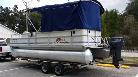 pontoon tops with sides sunset pontoon 2007 for sale for 1 675 boats from usa