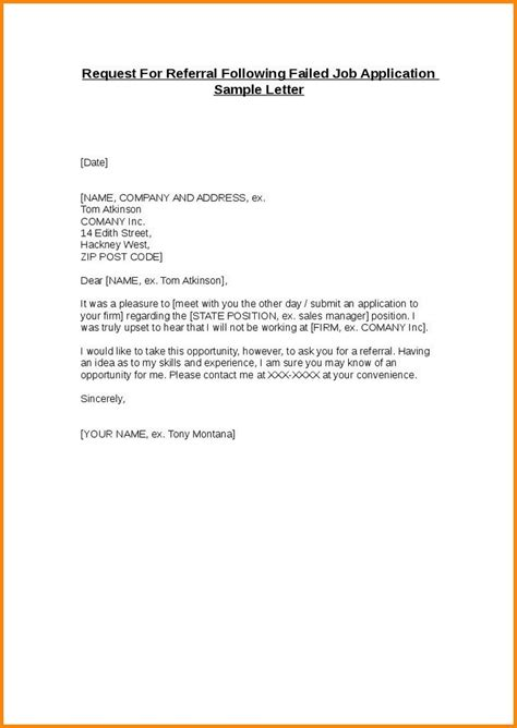 Email Referral Cover Letter by Referral Email Template Template Design