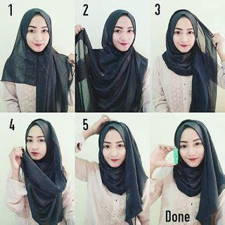 tutorial hijab pashmina simple kuliah 8 tutorial hijab pashmina sifon simple dan gang hijab yuk