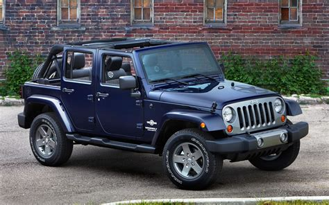 Jeep Wrangler Editions Inspired 2012 Jeep Wrangler Freedom Edition Unveiled