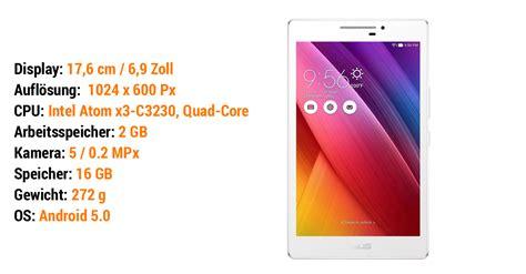 Tablet Asus Zenpad C7 0 Z170cg stiftung warentest 08 2016 14 android tablets mit bis zu