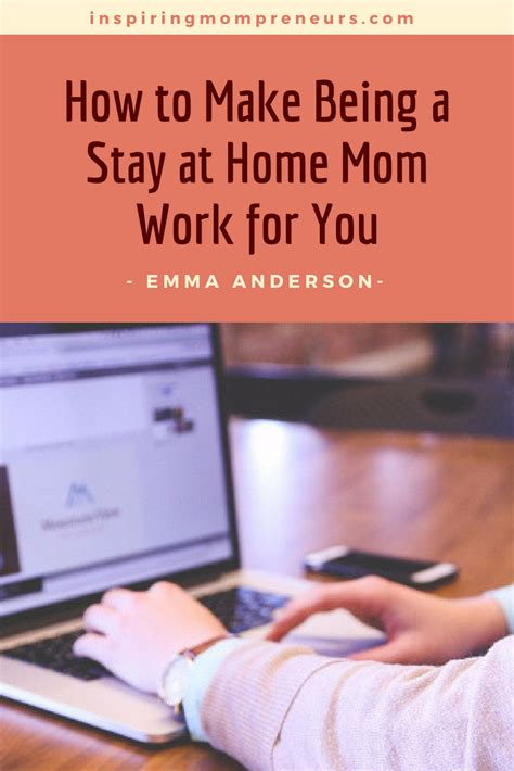 ways stay home make money inspiring mompreneurs