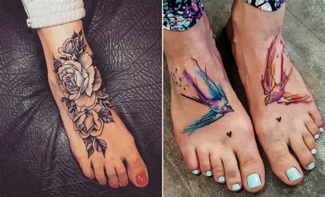 awesome foot tattoos  women stayglam