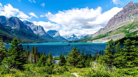 glacier national park lake glacier national park wallpapers hd