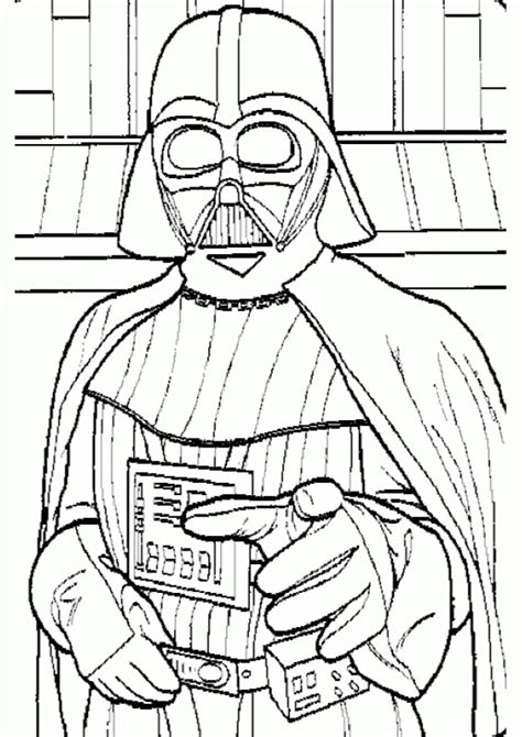 printable coloring pages darth vader wars coloring pages darth vader coloring home