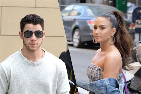 demi lovato and nick jonas song nick jonas jumps in to replace sick demi lovato on trl