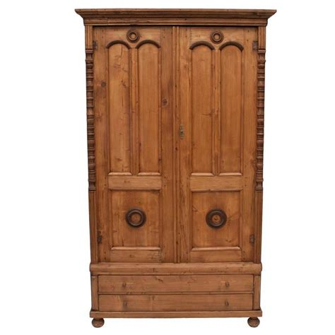 pine armoire furniture pine armoire for sale at 1stdibs