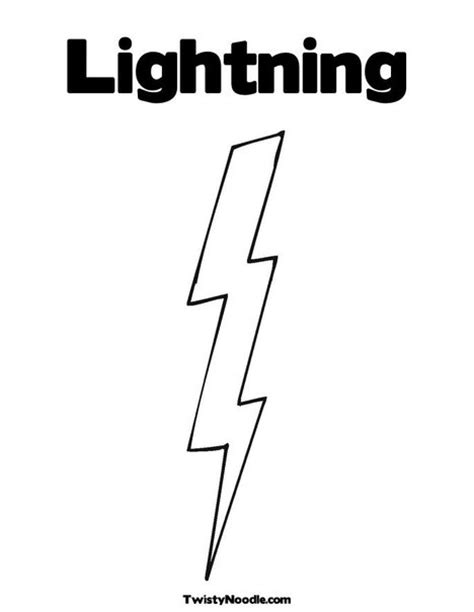 Free Coloring Pages Of Thunderstorms Lightning Coloring Pages