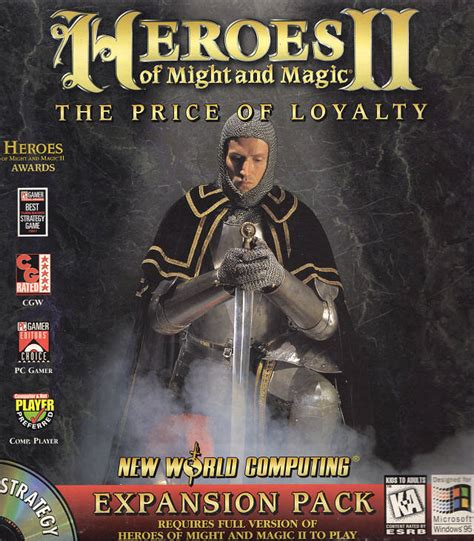 and loyalty 2 series heroes of might and magic ii the price of loyalty might