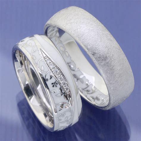 Ausgefallene Verlobungsringe by Eheringe Shop Trauringe Aus 585 Weissgold Mit Flower