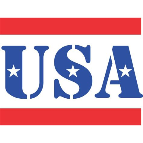 American Home Design Reviews by Usa Symbols Iron On Sticker