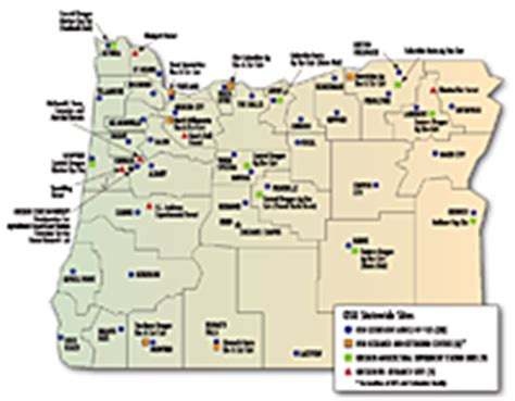 map of oregon colleges april 2011 volume 2 number 2 college of agricultural