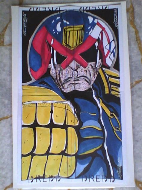 Sketches E G Crossword by Judge Dredd Puzzle Sketch Card By Saintvinod On Deviantart