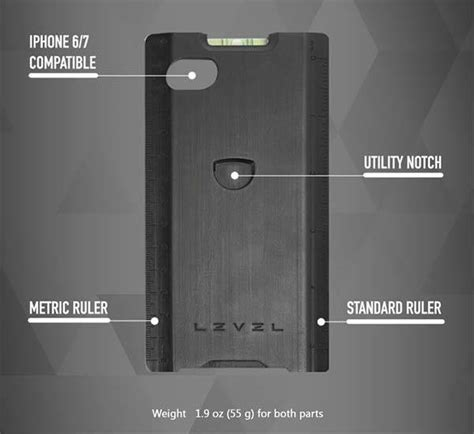 iphone level tool level iphone 7 with interchangeable multi tools gadgetsin