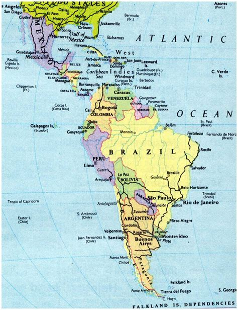 map of usa and south america map of south america and mexico arabcooking me