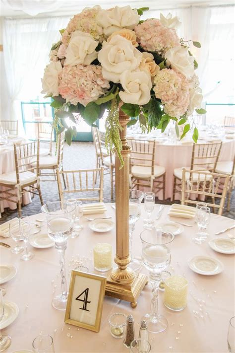 bridal shower photo centerpieces 2 blush wedding wedding centerpieces wedding centerpieces