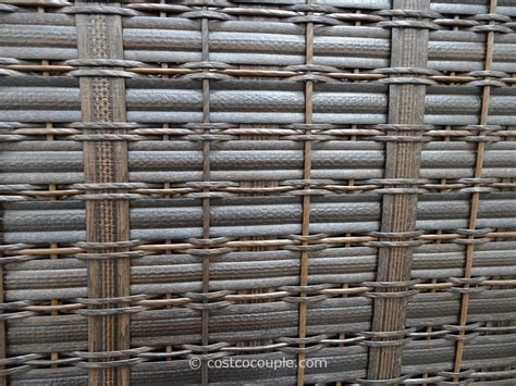 costco outdoor storage bench agio international fairview woven storage bench