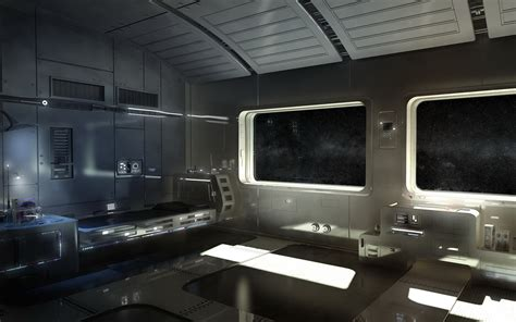 s f future spaceship interior wallpaper 1680x1050