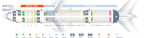 boeing 757 200 seats boeing 757 seating chart