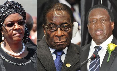 biography of grace mugabe pissed off zimbabwe vice president mnangagwa says he will