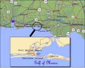 map to destin florida destin map