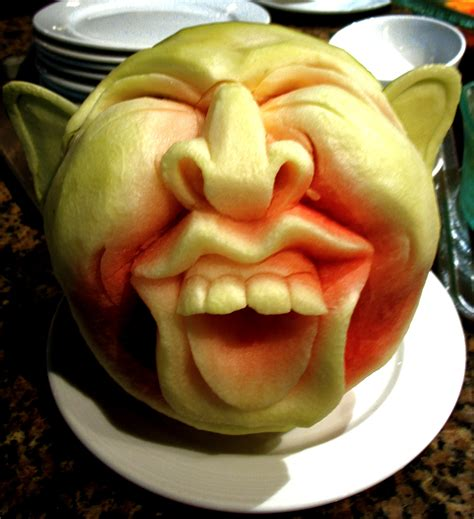 They Been Carving Melons Again by Watermelon Carving 16 Stylish