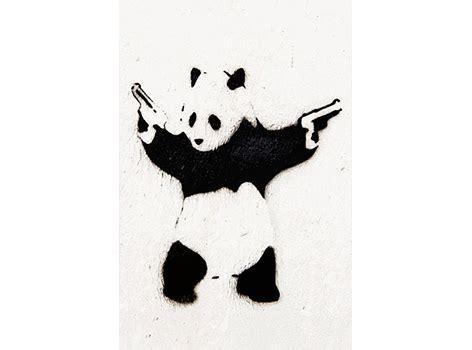 banksy canvas print groupon goods