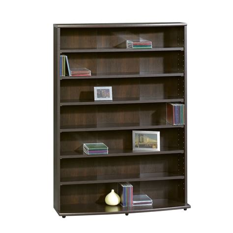 wood bookcase bookshelf adjustable book shelves storage